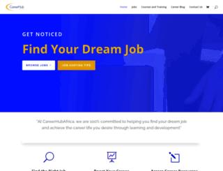 careerhubafrica.com screenshot