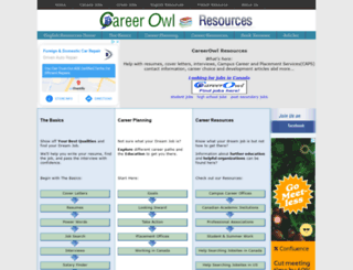careerowlresources.ca screenshot