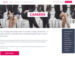 careerpaths.salmat.com.au screenshot