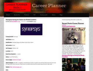 careerplannerblog.wordpress.com screenshot