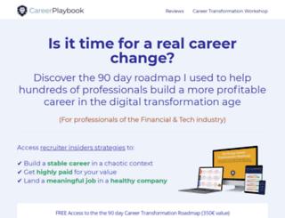 careerplaybook.com screenshot
