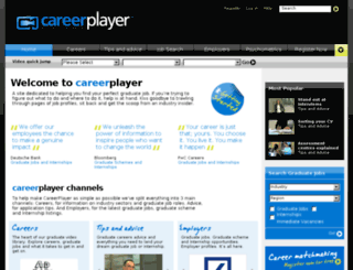 careerplayer.com screenshot