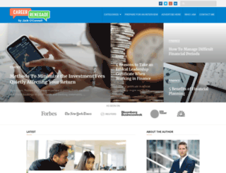 careerrenegade.com screenshot