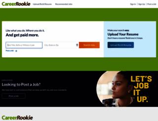 careerrookie.com screenshot