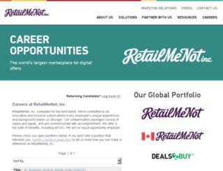careers-retailmenot.icims.com screenshot