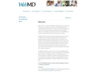 careers-webmd.icims.com screenshot