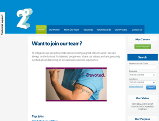 careers.2degreesmobile.co.nz screenshot