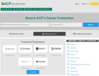 careers.acponline.org screenshot