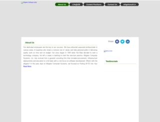 careers.alligatorsoft.in screenshot