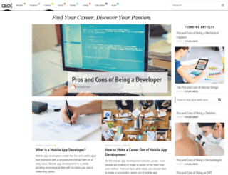 careers.alot.com screenshot