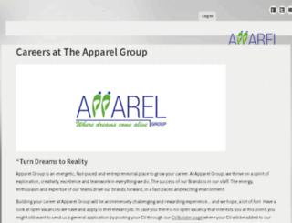 careers.appareluae.com screenshot