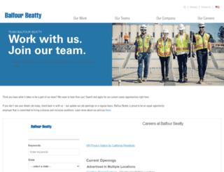 careers.balfourbeattyus.com screenshot