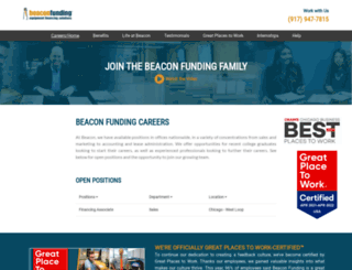 careers.beaconfunding.com screenshot