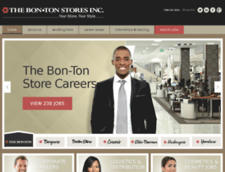 careers.bonton.com screenshot