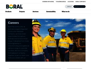 careers.boral.com.au screenshot