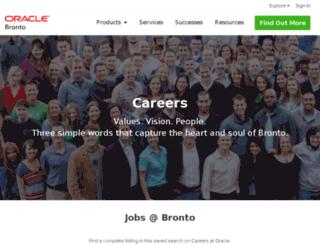 careers.bronto.com screenshot