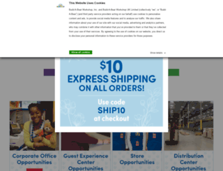 careers.buildabear.com screenshot