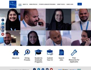 careers.bupa.com.sa screenshot