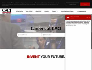 careers.caci.com screenshot