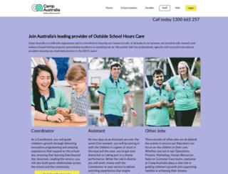 careers.campaustralia.com.au screenshot