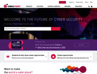 careers.checkpoint.com screenshot