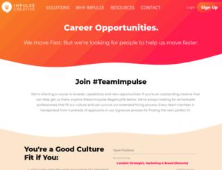 careers.chooseimpulse.com screenshot