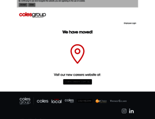 careers.colesgroup.com.au screenshot