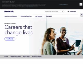 careers.covidien.com screenshot