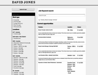 careers.davidjones.com.au screenshot