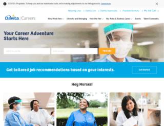 careers.davita.com screenshot