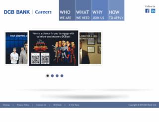 careers.dcbbank.com screenshot