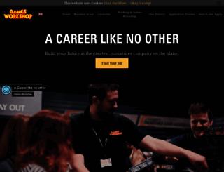 careers.games-workshop.com screenshot