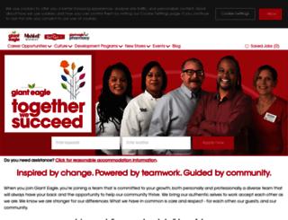 careers.gianteagle.com screenshot