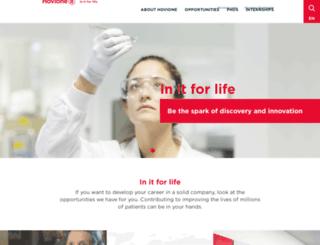 careers.hovione.com screenshot