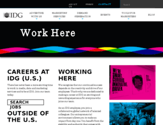 careers.idg.com screenshot
