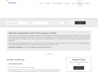 careers.iictechnologies.com screenshot