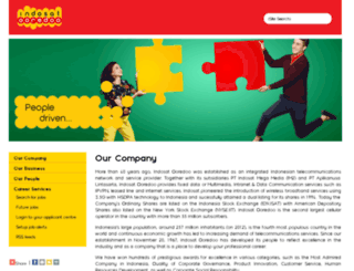 careers.indosat.com screenshot