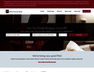 careers.iuhealth.org screenshot
