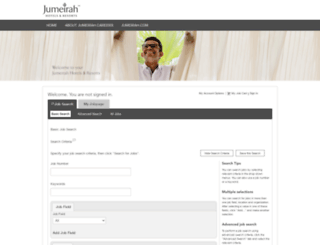 careers.jumeirah.com screenshot