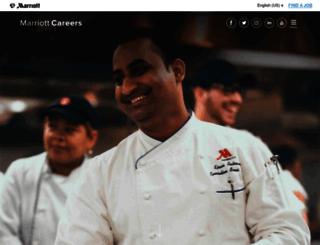 careers.marriott.com screenshot