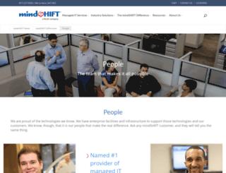careers.mindshift.com screenshot