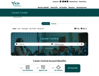 careers.myacpa.org screenshot
