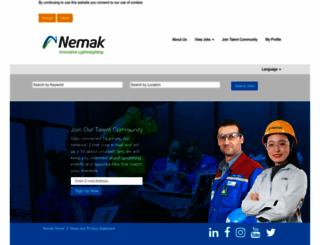 careers.nemak.com screenshot