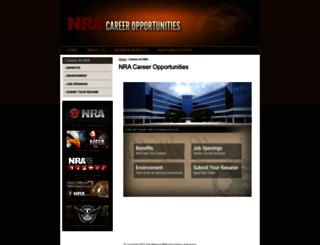 careers.nra.org screenshot