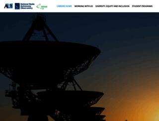 careers.nrao.edu screenshot