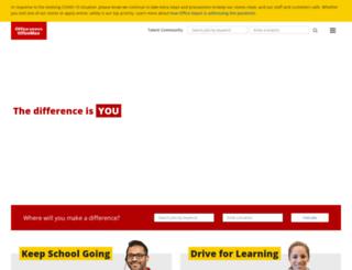 careers.officemax.com screenshot