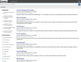 careers.panasonic.com.sg screenshot