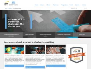 careers.parthenon.com screenshot