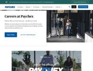 careers.paychex.com screenshot
