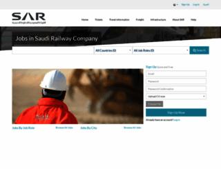 careers.sar.com.sa screenshot